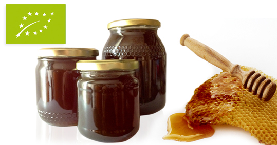 Organic Mountain honey