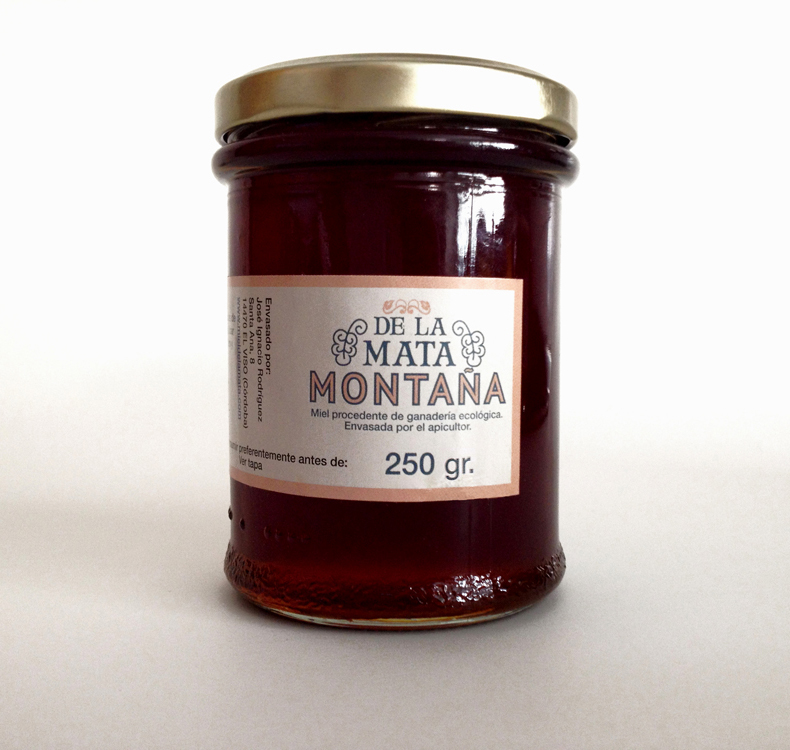 Organic mountain honey [250 gr]