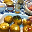 Manzanas al horno con miel ecológica – Miel de la Mata