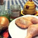 Pollo a la miel de romero