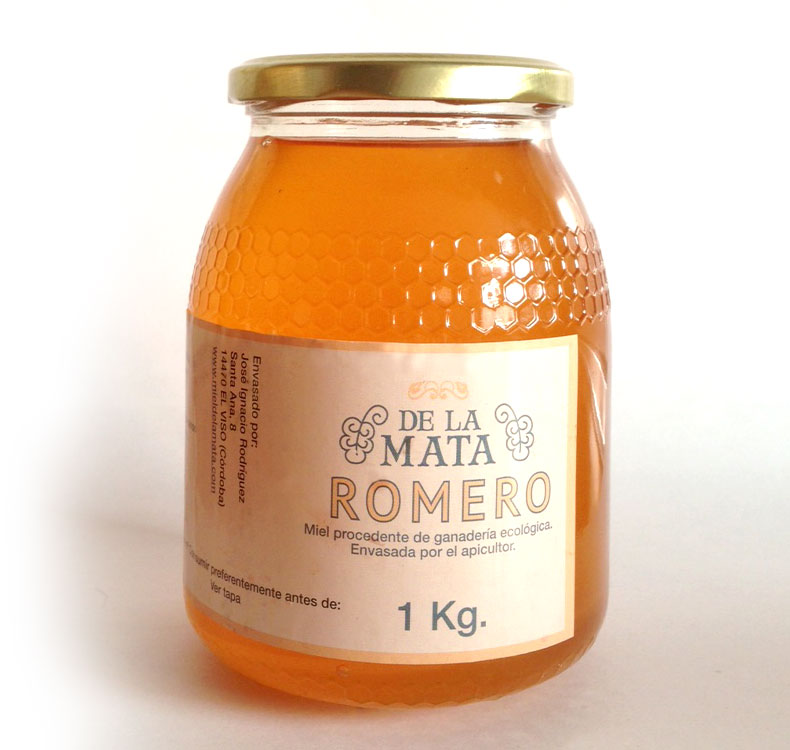 Organic rosemary honey [1 Kg]