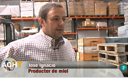 José Ignacio Rodríguez, apicultor ecológico de Miel de la Mata